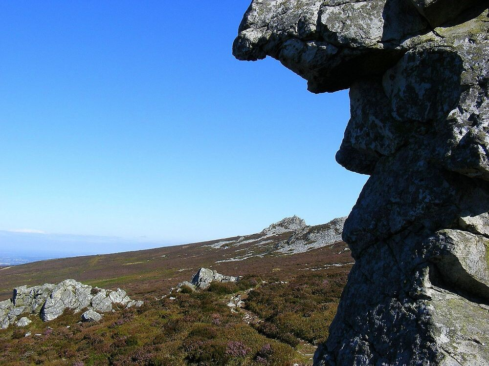 The Stiperstones by Dave646