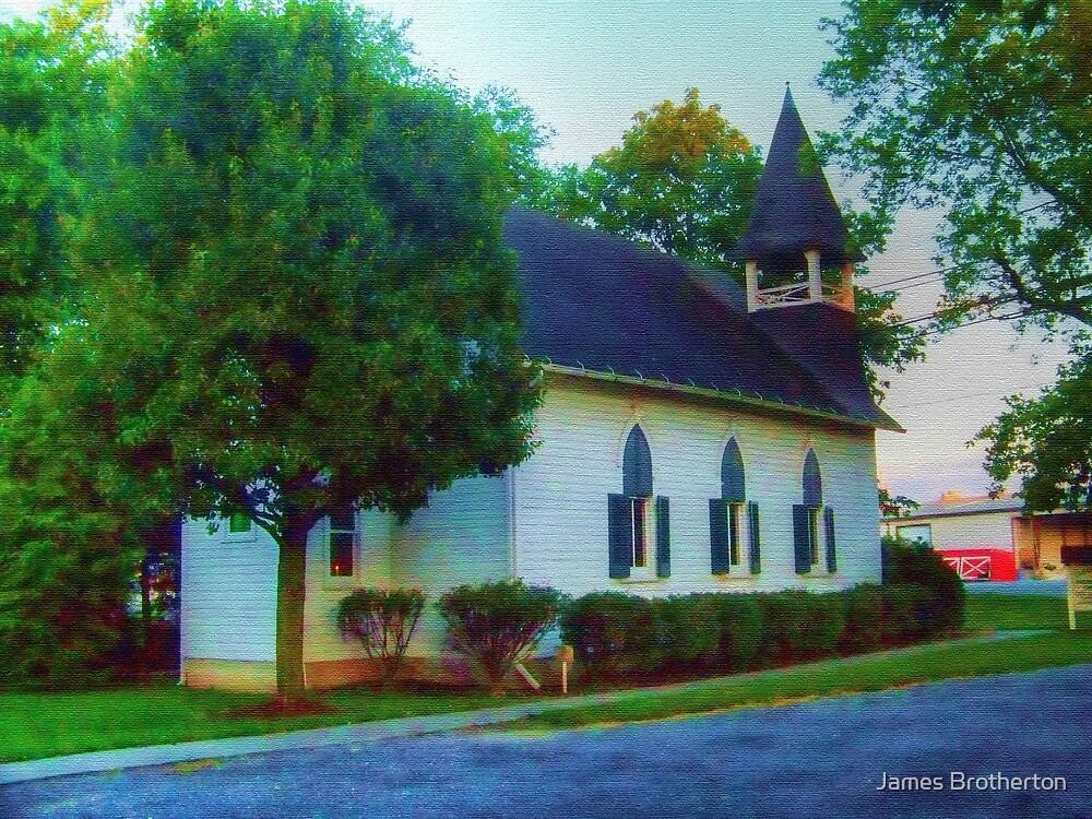 Clear Brook Presbyterian Church by James Brotherton