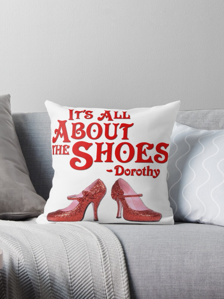 It's All About The Shoes -- Wizard of Oz by gleekgirl