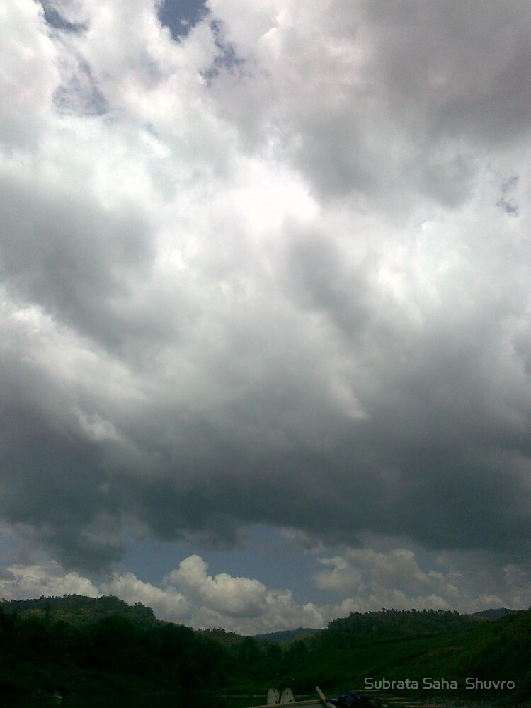 Cloudy Sky by Subrata Saha  Shuvro
