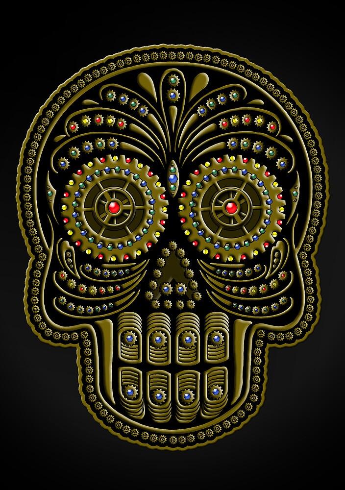 Steampunk de los Muertos by Amiteestoo