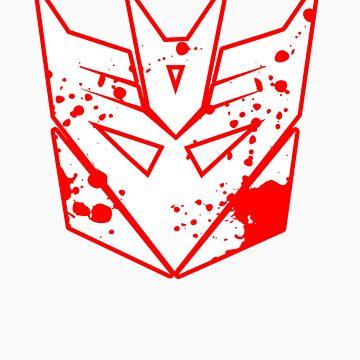 Bloody Decepticons by MrKroli