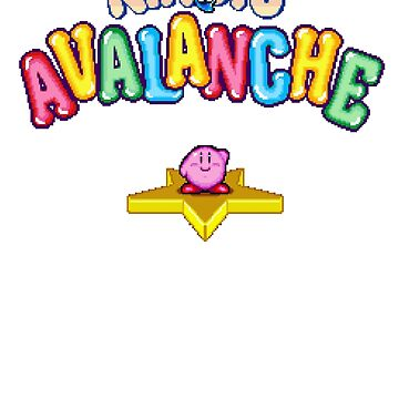 Kirby's Avalanche (SNES) Title Screen by AvalancheShirts
