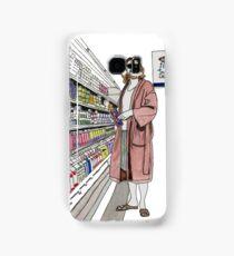 Jeffrey Lebowski and Milk. AKA, the Dude. Samsung Galaxy Case/Skin