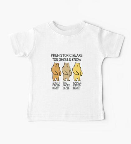 Prehistoric Bears You Should Know Kids Clothes