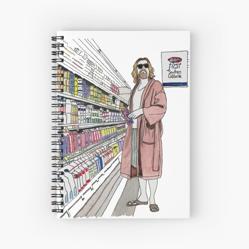 Jeffrey Lebowski y Milk. AKA, el tipo. Cuaderno de espiral