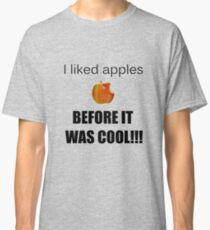 I always liked apples... Classic T-Shirt