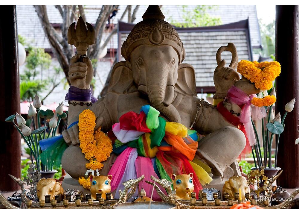 Lord Ganesha Shrine by phil decocco