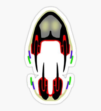 Tiki Masks - Theropod Sticker