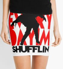 Zombie Shuffle (blk) Mini Skirt