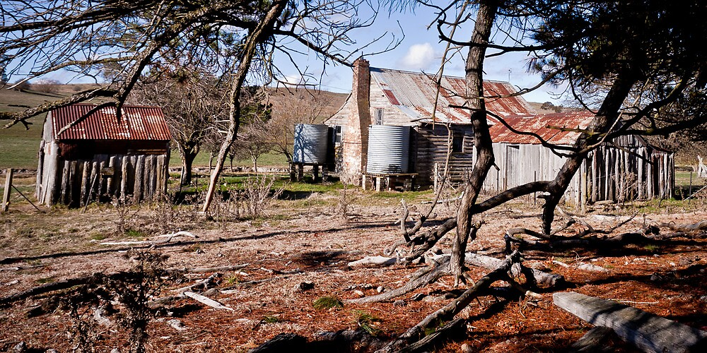 Homestead - Thunderbolt Way NSW by Andrew Kerr