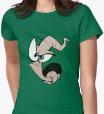 Earthworm Jim Women's Fitted T-Shirt