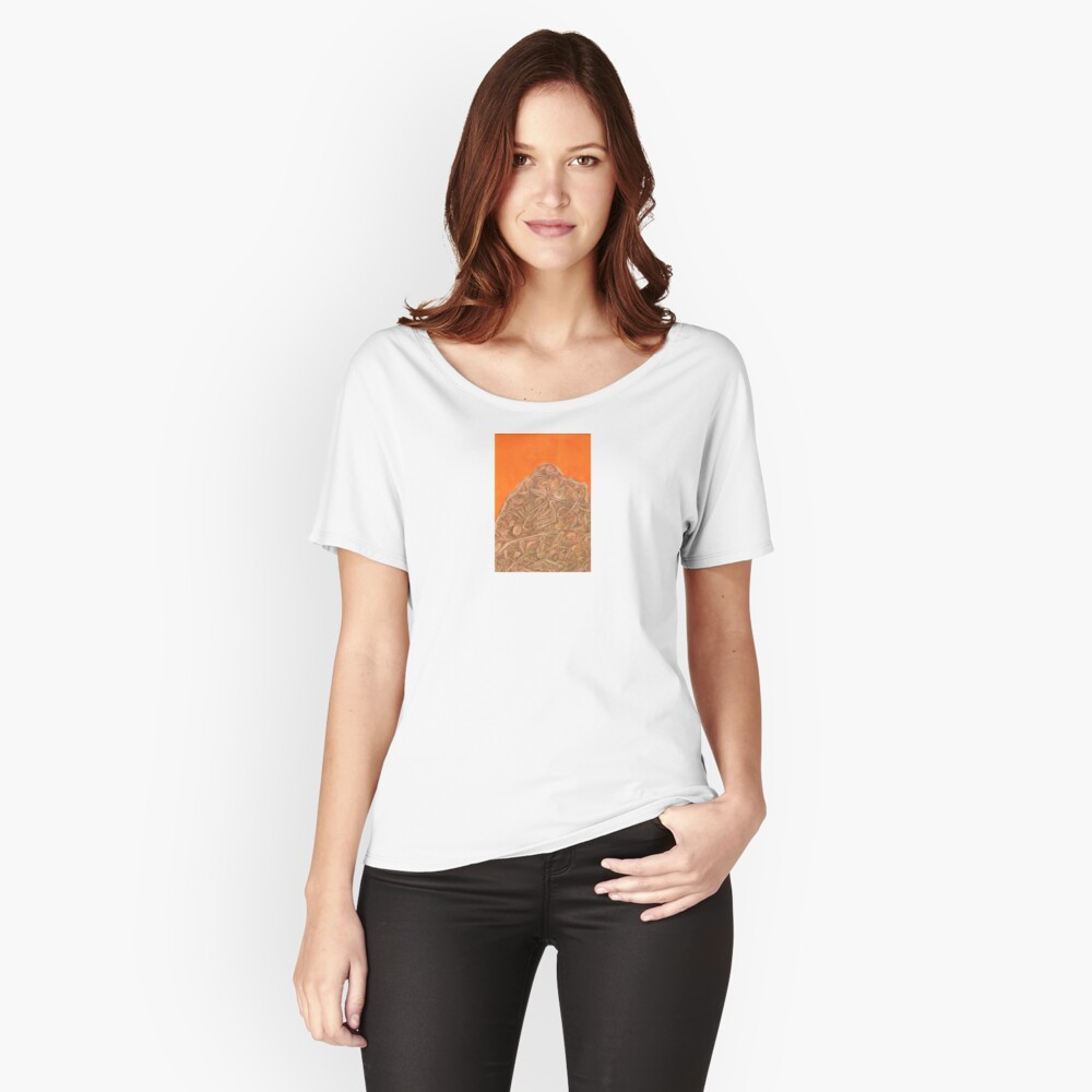 mountain Women's Relaxed Fit T-Shirt Front