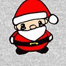 Chibi Santa by Zozzy-zebra