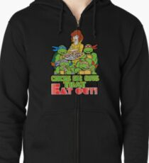 Chicks Dig Guys That Eat Out Zipped Hoodie