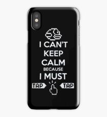 Keep Calm And Tap On iPhone Case/Skin
