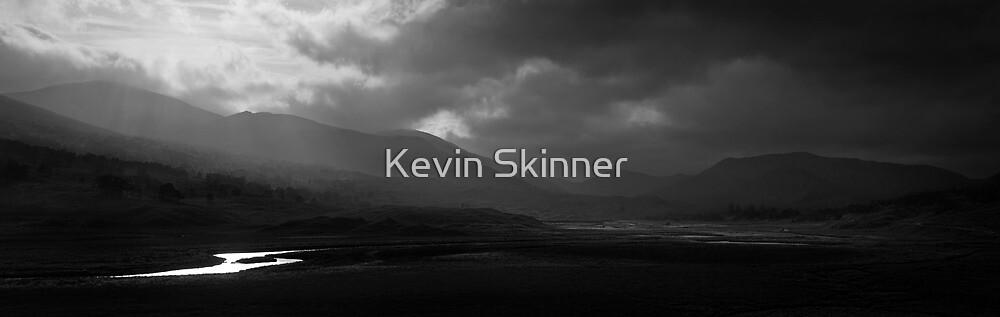 Glen Strathfarrar - The Light (B&W Version) v3 by Kevin Skinner