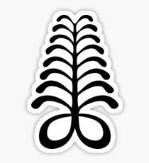 aya adinkra africa ghana symbol Sticker