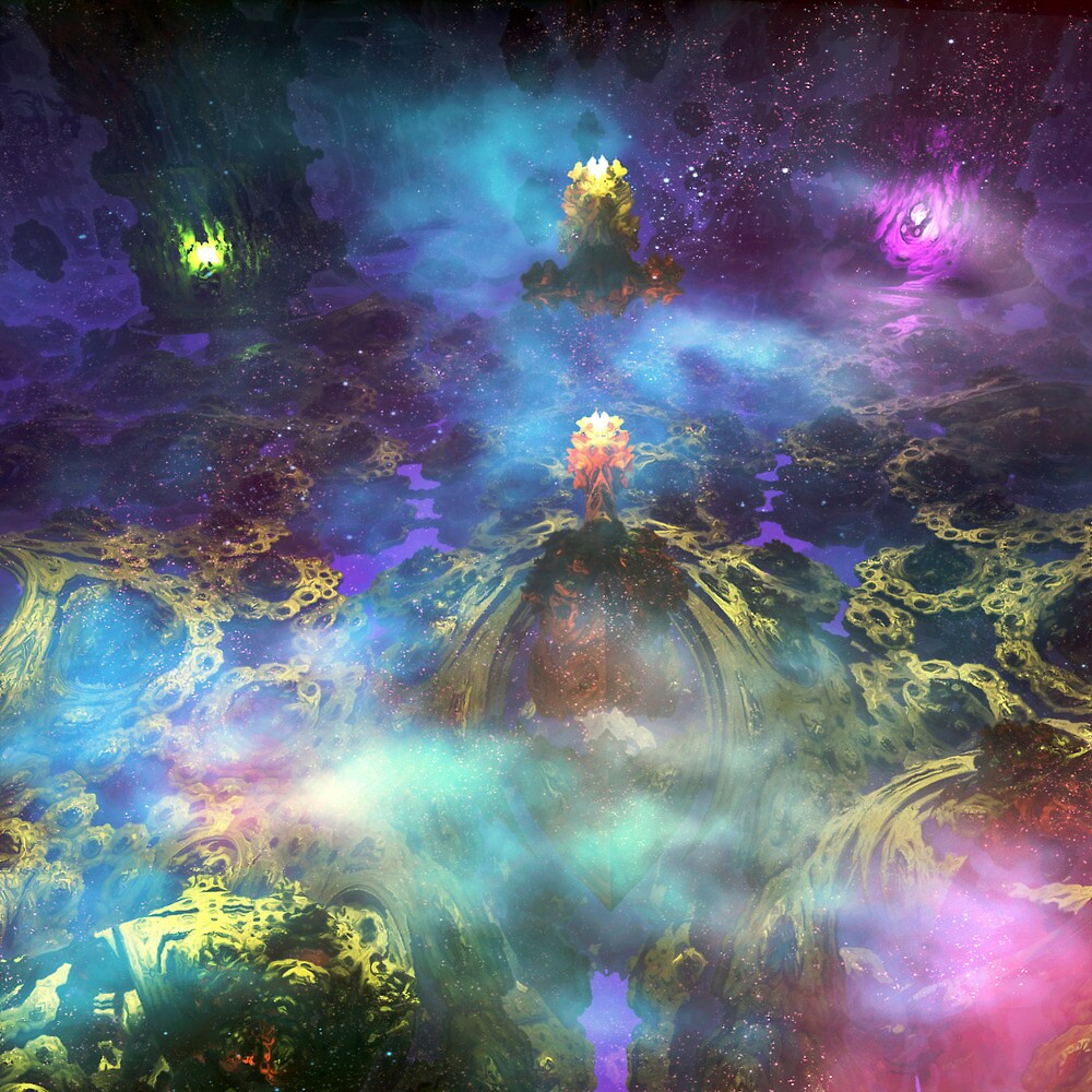 Sacred place of fractal monks by glaktor