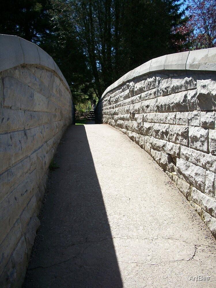 Stone Walkway by ArtBee