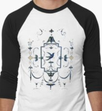 Italian Renaissance Bird T-Shirt Men's Baseball ¾ T-Shirt