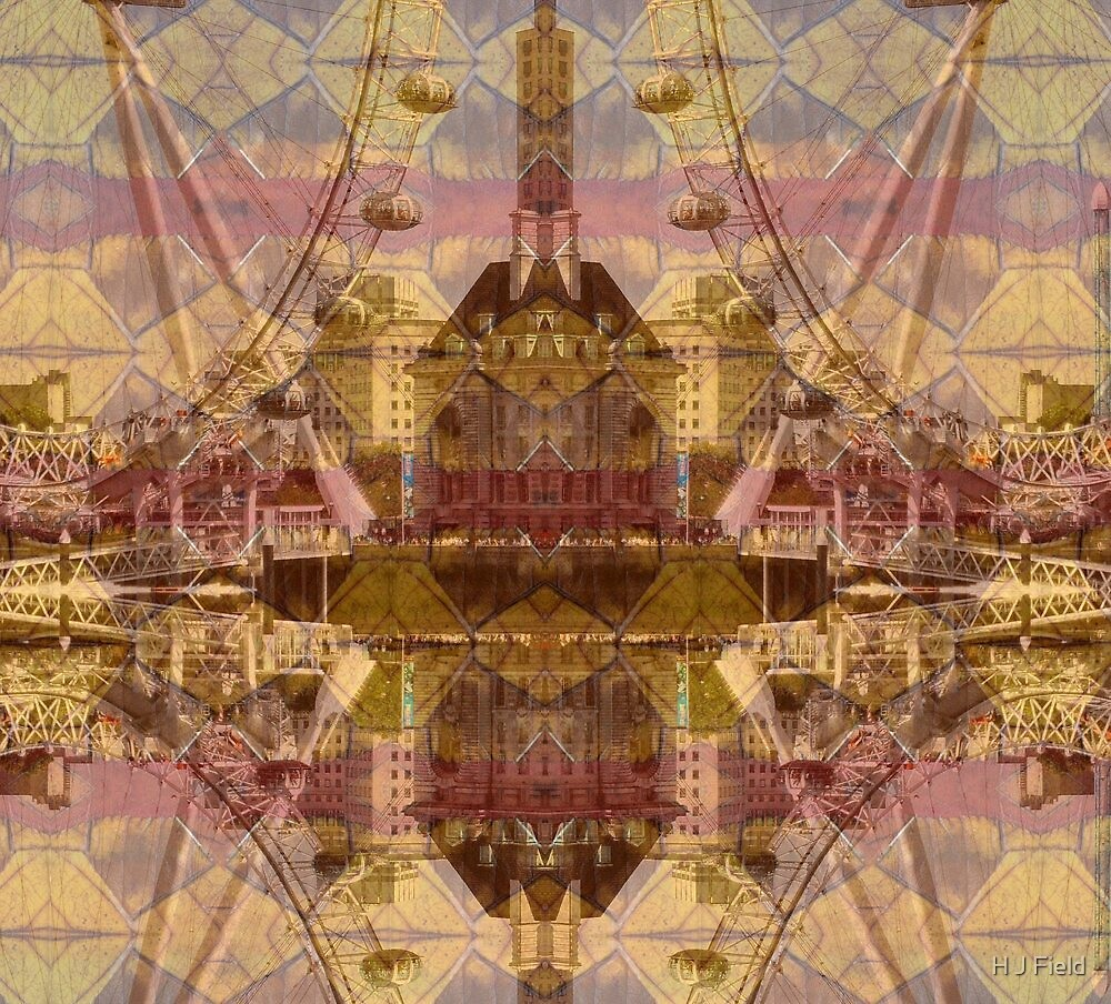 city merge II by H J Field