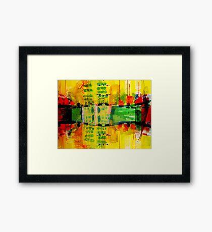 city merge IV Framed Print