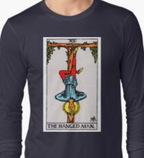 Tarot Card - The Hanged Man Long Sleeve T-Shirt