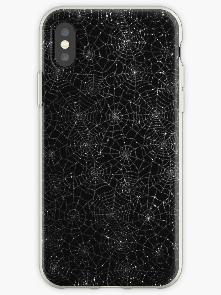 Spider Bling Case by Ronald Hannah