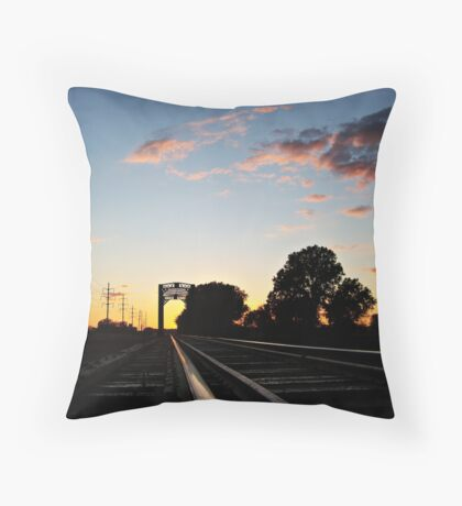 Trestle at Twilight Throw Pillow