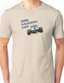 Super Maldonado Kart - Blue Writing T-Shirt