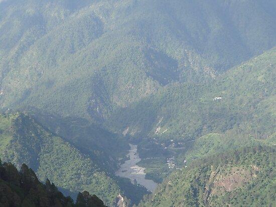 Valley of Ranikhet by RAHUL  PANDIT