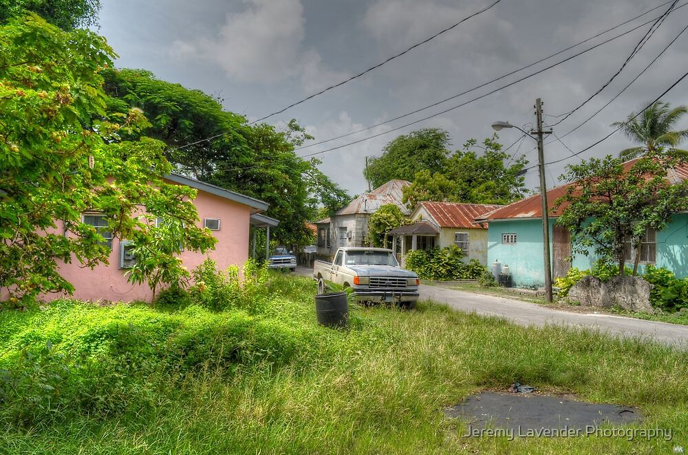 Rural Village in Nassau, The Bahamas by Jeremy Lavender Photography