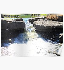Lisle Waterfall Poster