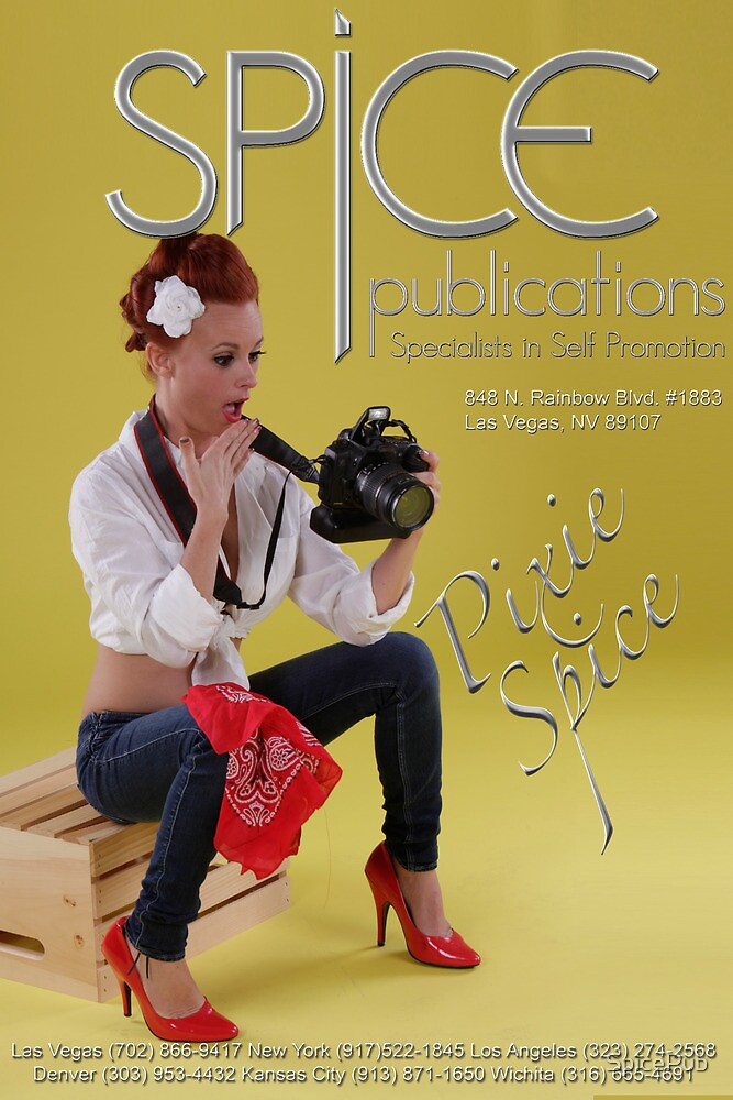 Spice Publications - Pixie Spice Poster 6 by SpicePub