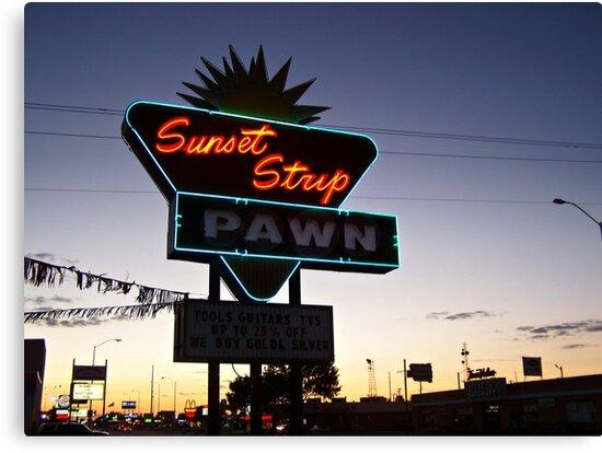 Sunset Strip by Greg Belfrage