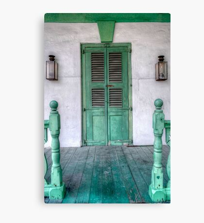 Old House in Nassau, The Bahamas Canvas Print