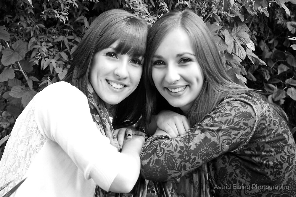 Sisters by Astrid Ewing Photography