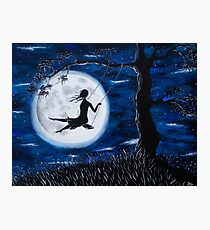 Moonlit Swing Photographic Print