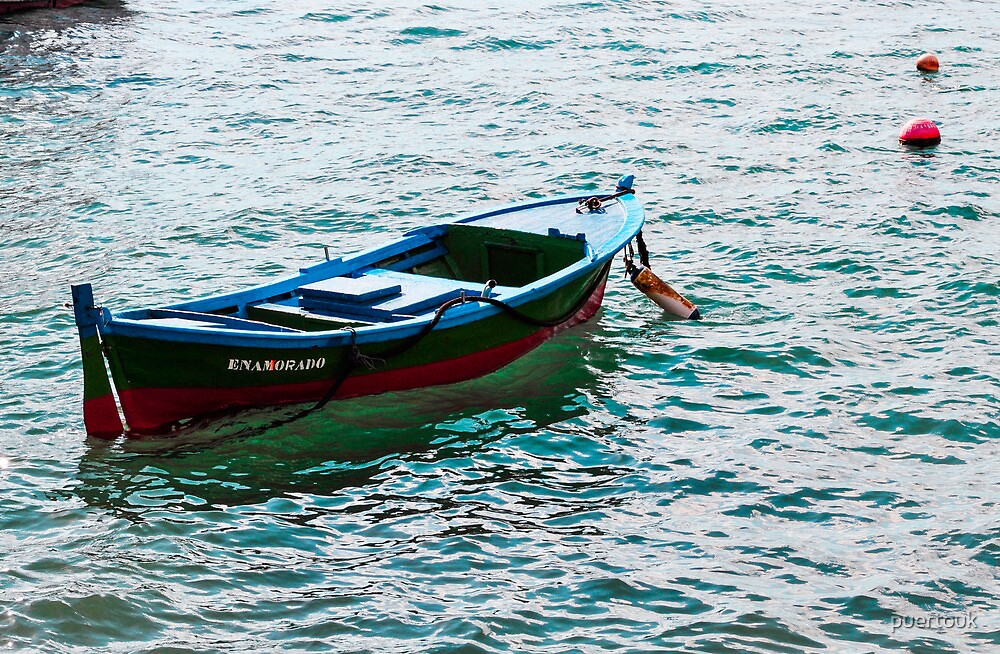 Local fishing boat by puertouk