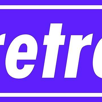 Retro - Blue by MacklinDocrt