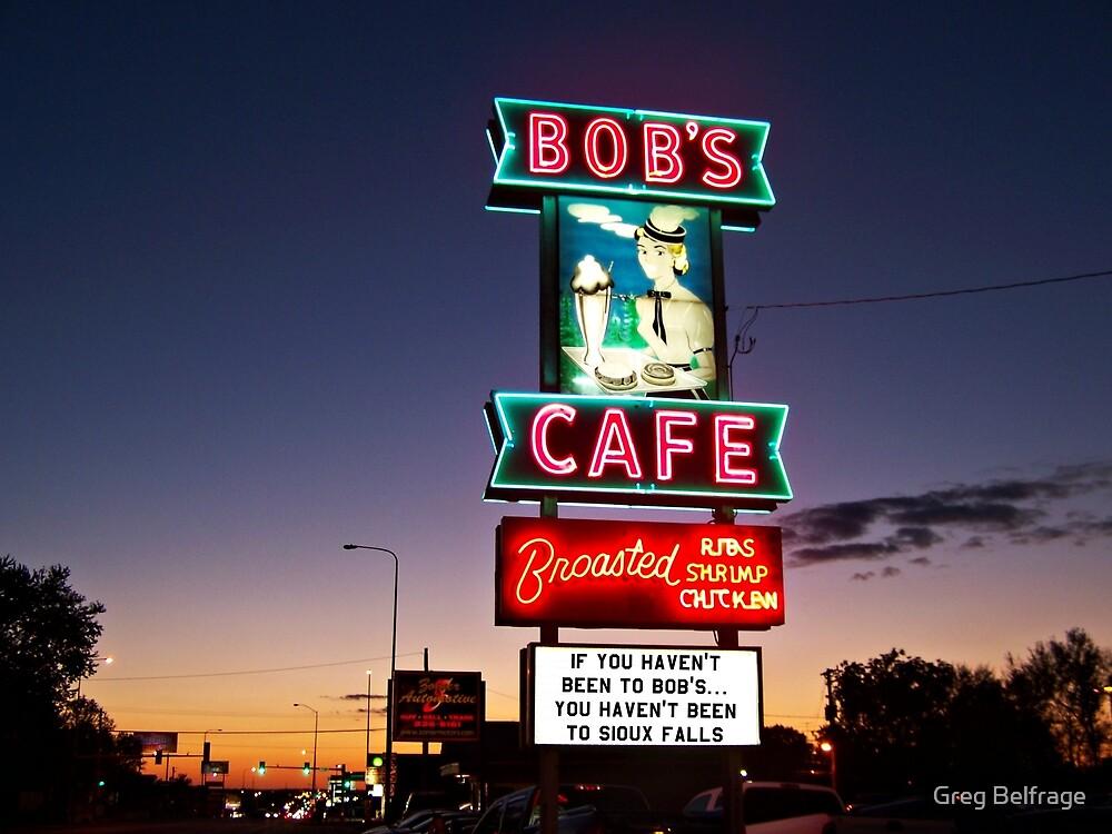 Bob's Cafe by Greg Belfrage