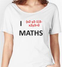 I Heart Maths  Women's Relaxed Fit T-Shirt