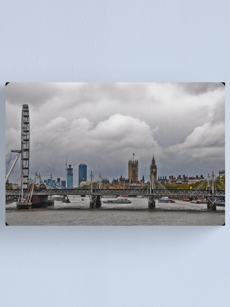 Alternate view of Experience London Canvas Print