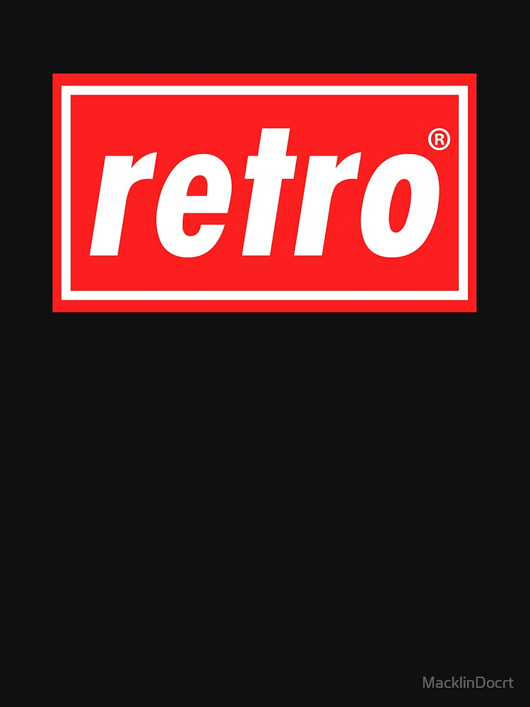 Retro - Red by MacklinDocrt