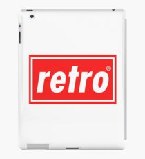 Retro - Red iPad Case/Skin