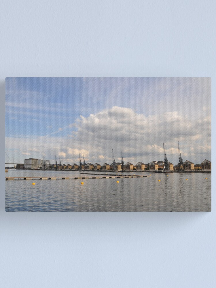 Alternate view of Urban river Canvas Print