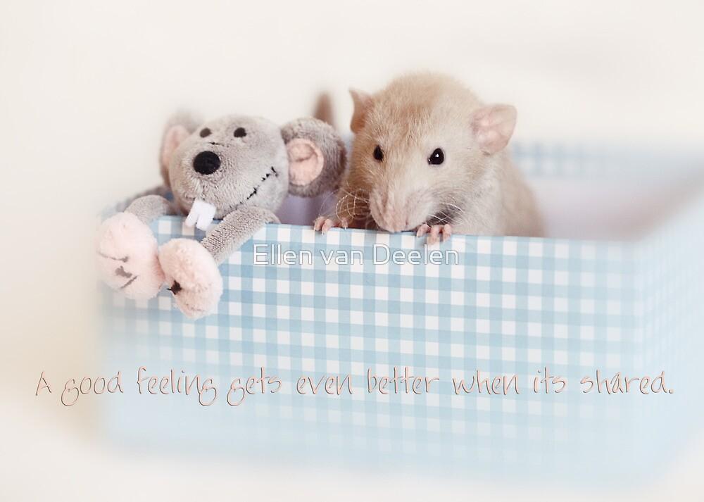 Friends :) by Ellen van Deelen