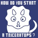 How do you start a Triceratops?! - Dr Who by spud-17