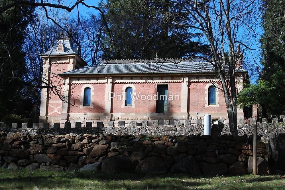 TURKISH BATH HOUSE, MOUNT WILSON by Phil Woodman
